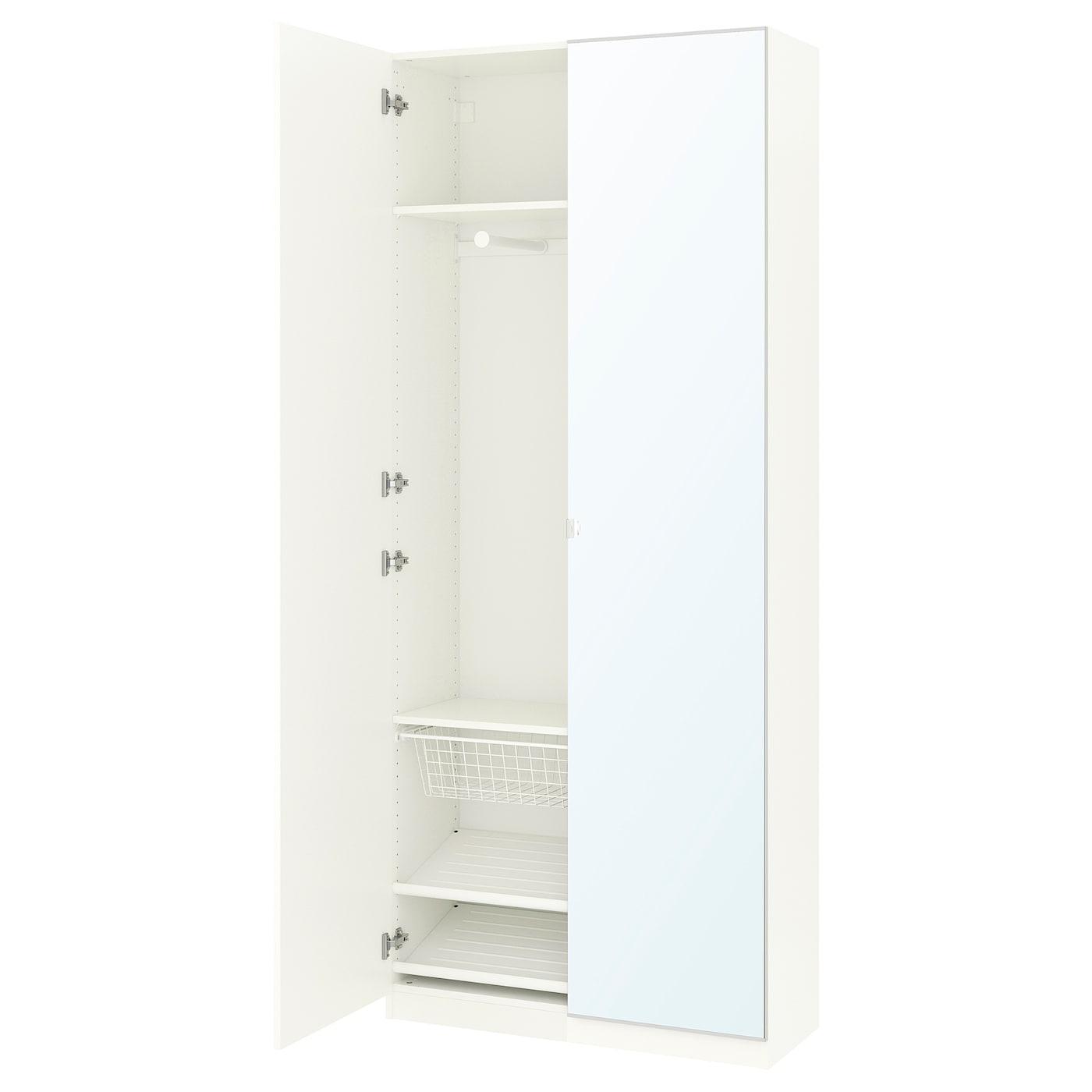 Pax Armario Blanco Forsand Vikedal 100 X 38 X 236 Cm Ikea