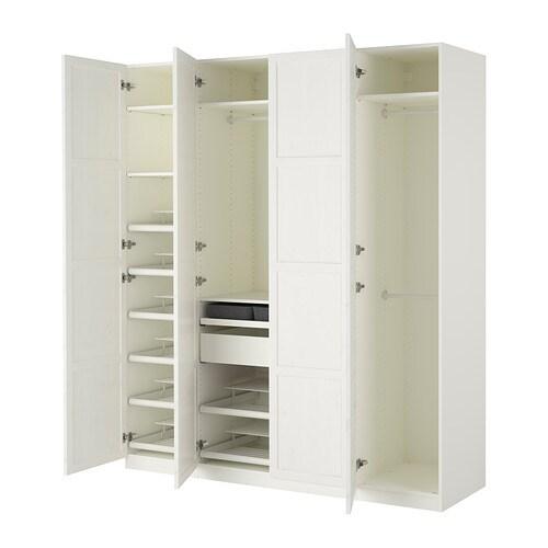 pax armario blanco hemnes tinte blanco blanco ancho cm fondo
