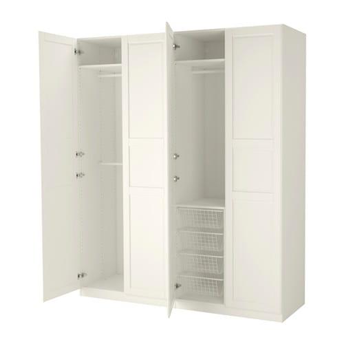 PAX Armario 200x60x236 cm, bisagras estándar IKEA