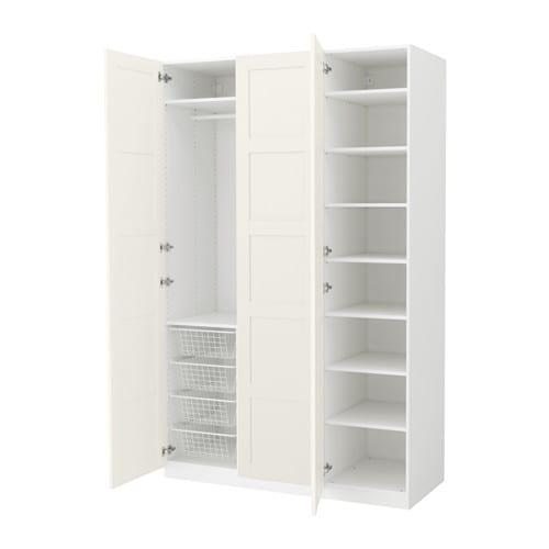 Adesivo Olhinhos Fechados ~ PAX Armario 150x60x236 cm, bisagras estándar IKEA