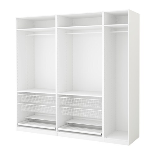 Pax Armario Blanco 250 X 58 X 236 Cm Ikea