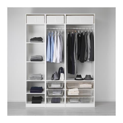 pax armario 175x58x236 cm ikea. Black Bedroom Furniture Sets. Home Design Ideas