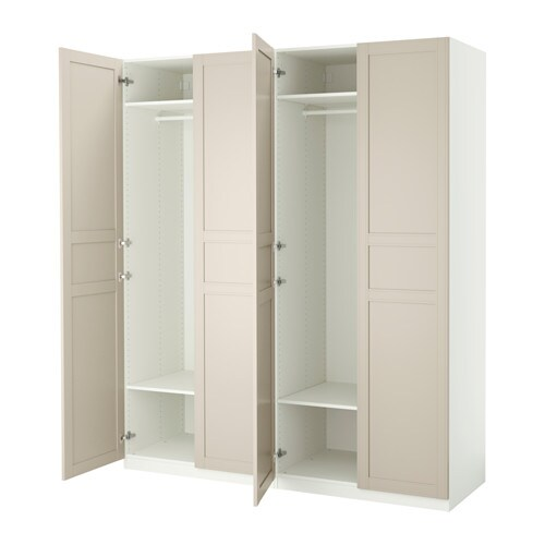 Pax armario b c s ikea for Puertas armarios ikea