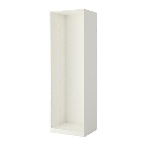 pax estructura armario blanco ikea. Black Bedroom Furniture Sets. Home Design Ideas