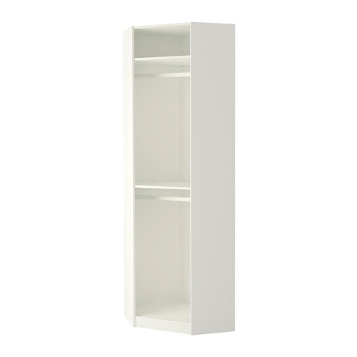 Pax estructura m dulo esquina blanco ikea - Ikea modulos salon ...
