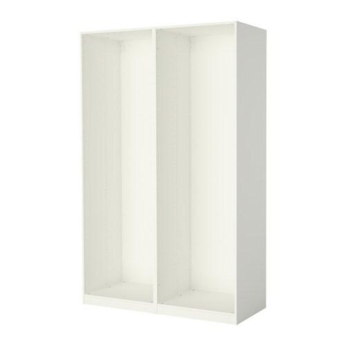 Armario Lavanderia Suspenso ~ PAX 2 estructuras de armario blanco IKEA