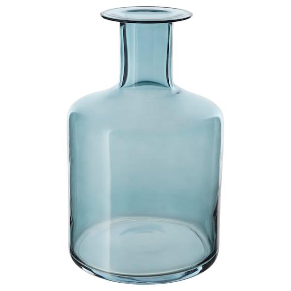 PEPPARKORN Florero / jarrón, azul, 28 cm