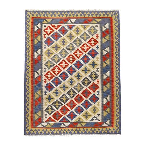 PERSISK KELIM GASHGAI Alfombra, lisa Más ofertas en IKEA Cada alfombra tiene un dibujo persa tradicional único.