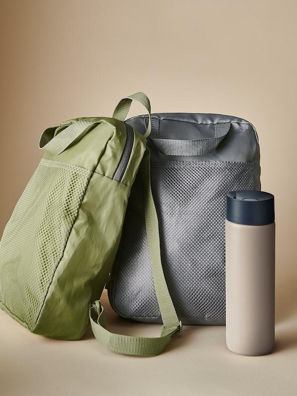 PIVRING mochila verde 9 l