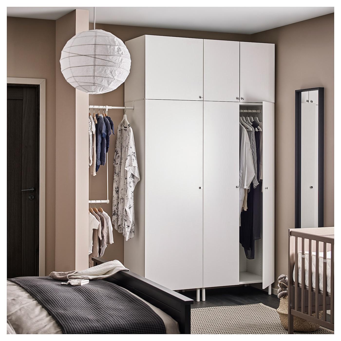 Platsa armario blanco fonnes blanco 175 200 x 57 x 251 cm ikea - Ikea armarios modulares ...