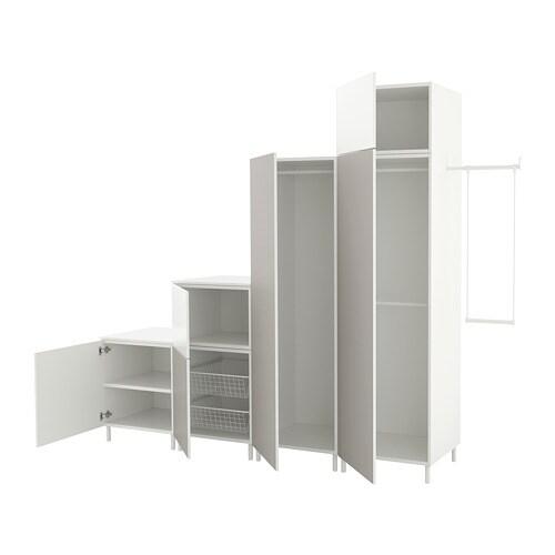 Platsa armario blanco fonnes skatval gris claro 275 300 x - Cultivo interior ikea ...