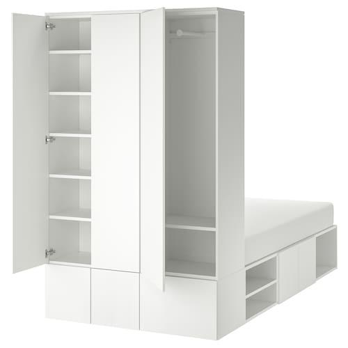 IKEA PLATSA Estructura cama 10 puertas