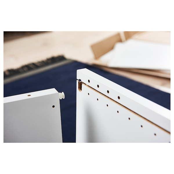 PLATSA Estructura, blanco, 80x55x120 cm