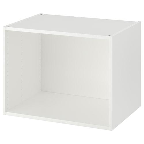 PLATSA estructura blanco 80 cm 55 cm 60 cm