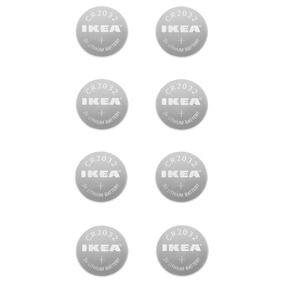 MOGNAD Vela peq LED, a pilas, blanco IKEA