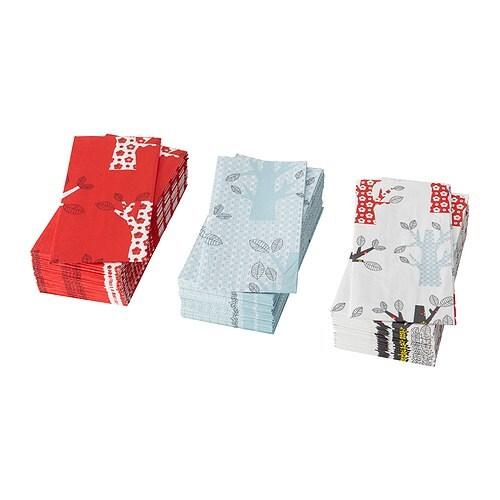 PLIKTIG Servilleta de papel  longitud: 38 cm Ancho: 38 cm Unidades: 30 unidades