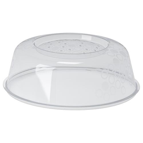 PRICKIG tapa para microondas gris 9 cm 26 cm