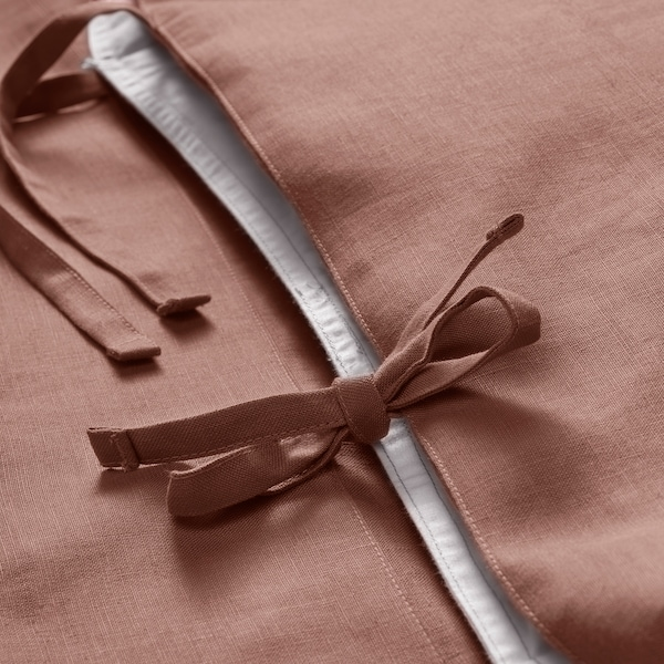 PUDERVIVA Funda nórdica +2 fundas almohada, rosa oscuro, 240x220/50x60 cm