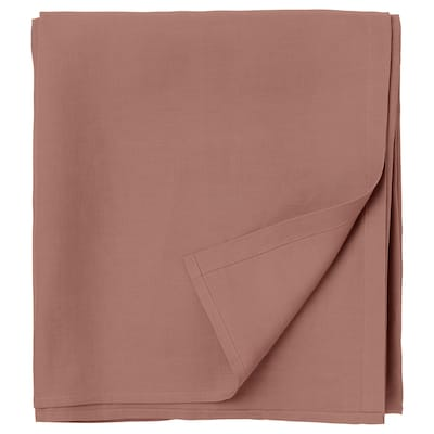 PUDERVIVA Sábana, rosa oscuro, 240x260 cm