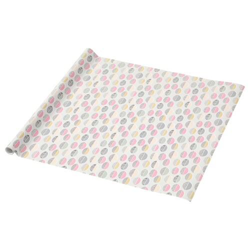 PURKEN rollo papel de regalo oval 3.0 m 0.7 m 2.10 m² 1 unidades 3 m