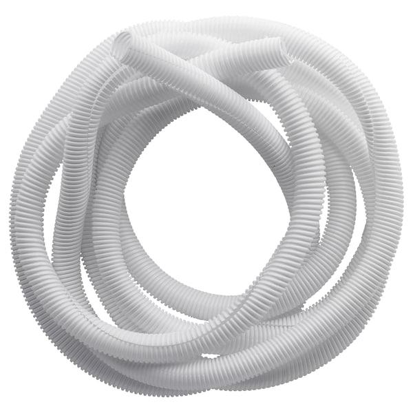 RABALDER Recogecables, blanco, 5 m