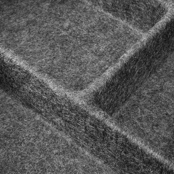 RAGGISAR bandeja gris oscuro 40 cm 30 cm 6 cm
