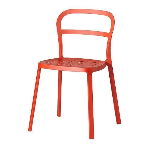 REIDAR Silla, naranja Ancho: 49 cm fondo: 50 cm Altura: 78 cm ancho del asiento: 42 cm profundidad del asiento: 38 cm altura del asiento: 46 cm