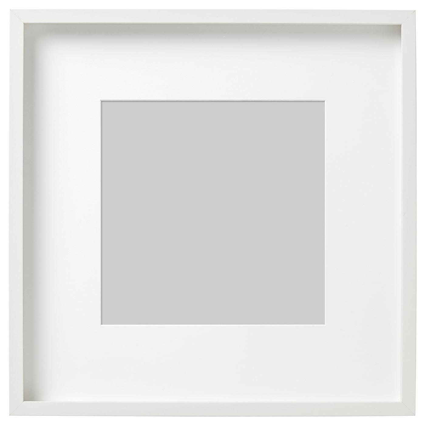 RIBBA Marco Blanco 50 x 50 cm - IKEA