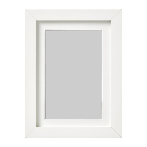 Ribba marco blanco 13 x 18 cm ikea - Ikea marco fotos ...