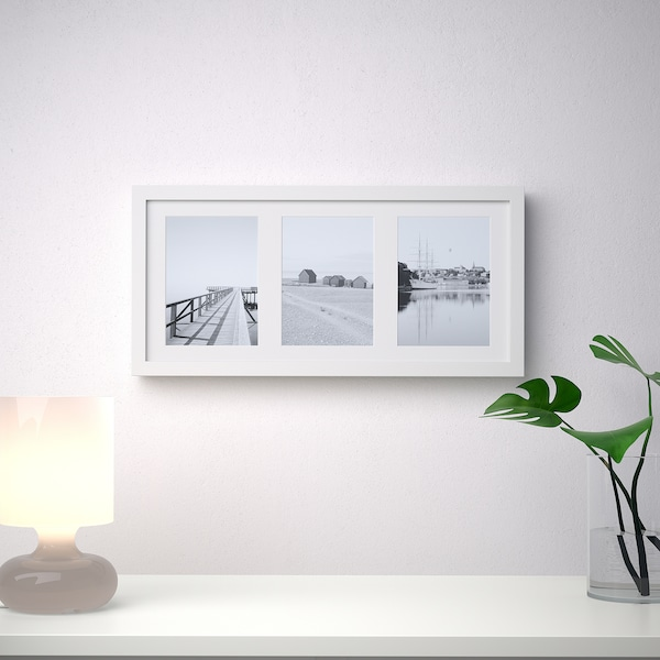 RIBBA Marco, blanco, 50x23 cm