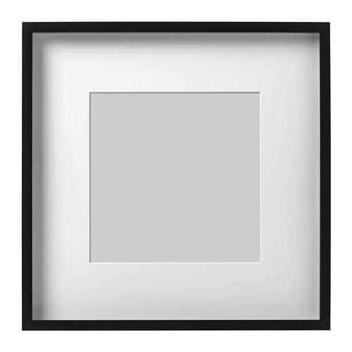 ribba marco negro 50 x 50 cm ikea. Black Bedroom Furniture Sets. Home Design Ideas