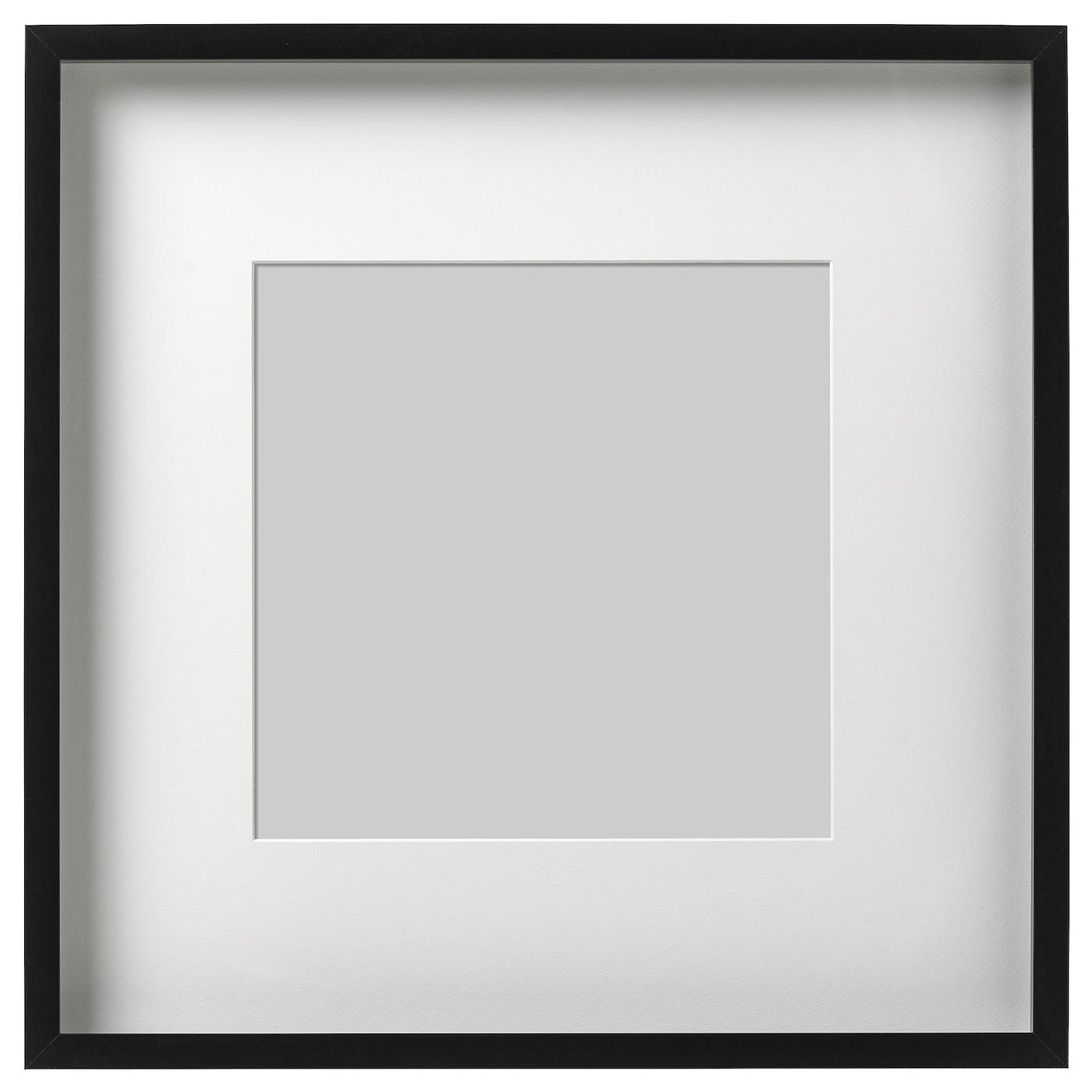 RIBBA Marco Negro 50 x 50 cm - IKEA