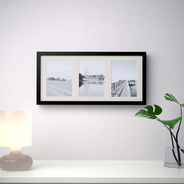 RIBBA Marco, negro, 50x23 cm