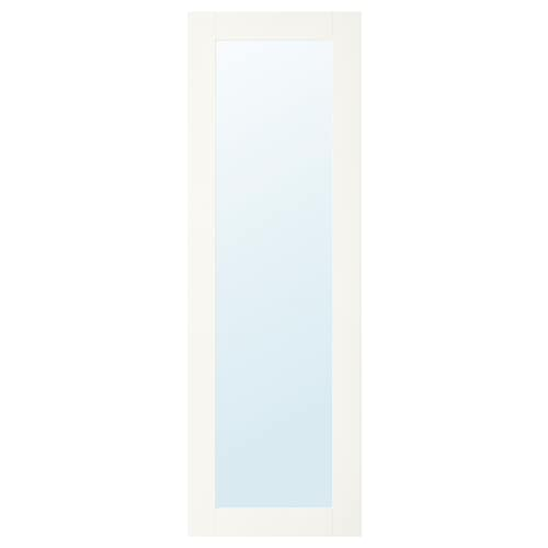 RIDABU puerta de espejo blanco 40.0 cm 120.0 cm 40.0 cm 120.0 cm