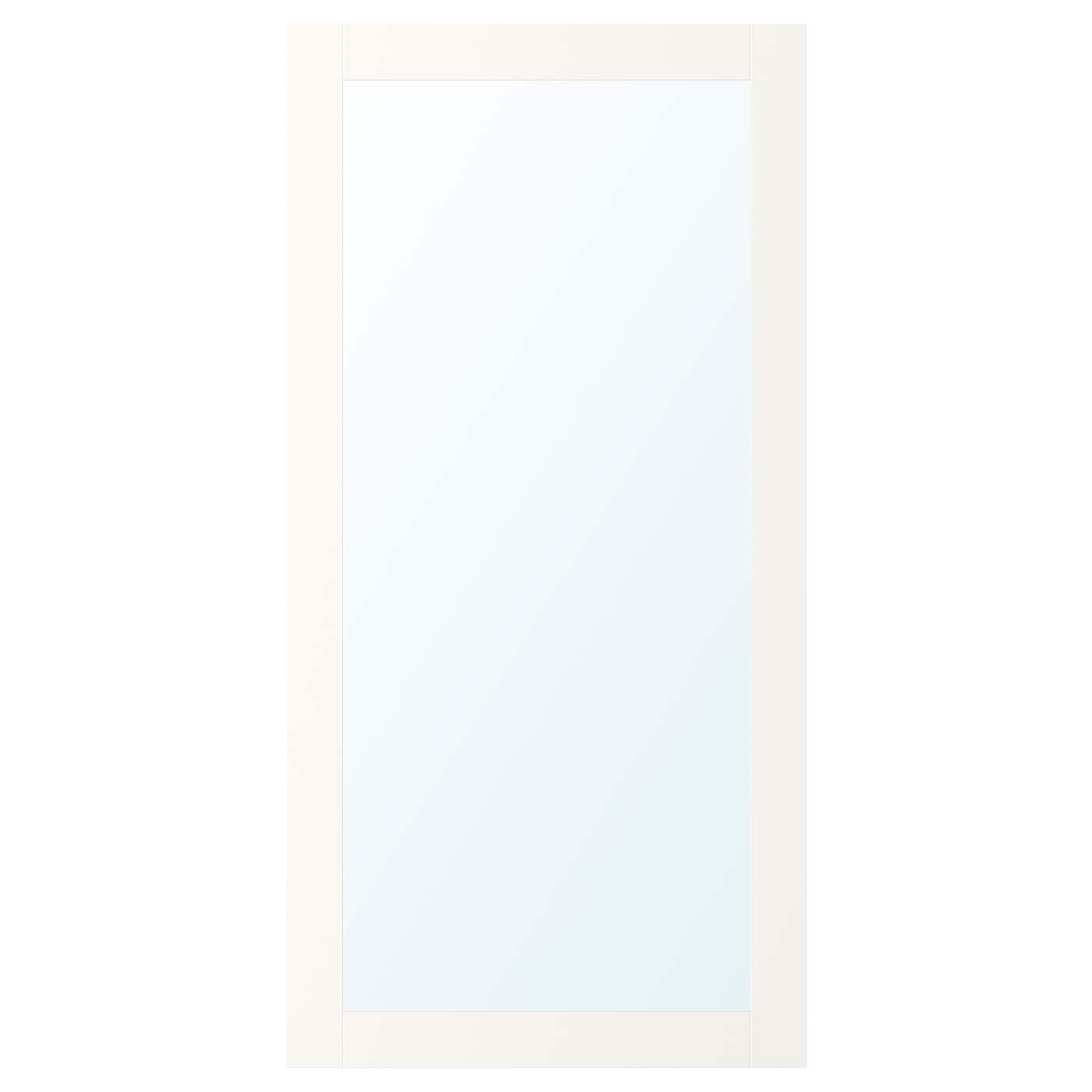 Ridabu puerta de espejo blanco 60 x 120 cm ikea - Espejo blanco ikea ...