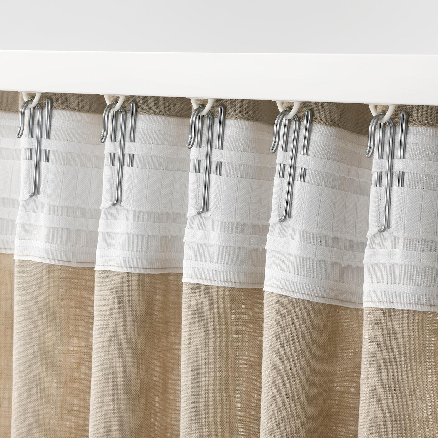 como quitar y poner ganchos cortinas ikea