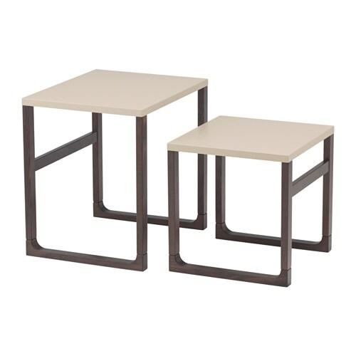 Rissna mesa nido j2 ikea for Instrucciones muebles ikea