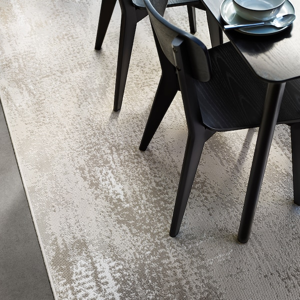 RODELUND Alfombra int/exterior, beige, 200x250 cm