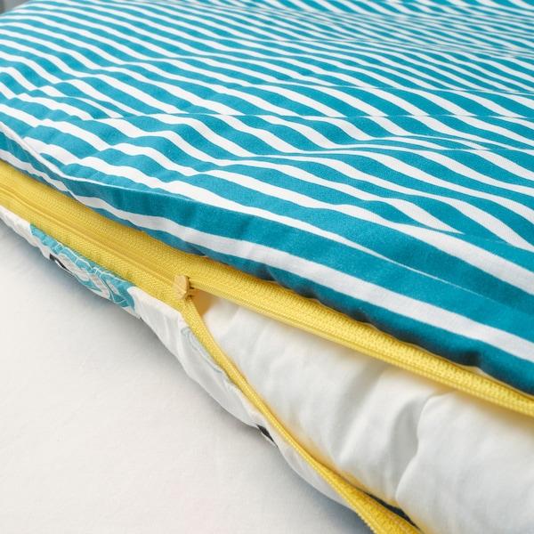 RÖRANDE Funda nórdica +funda almohada cuna, coches/azul, 110x125/35x55 cm