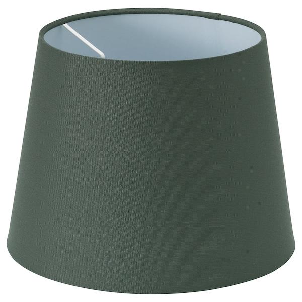 RYRA pantalla para lámpara verde oscuro 25 cm