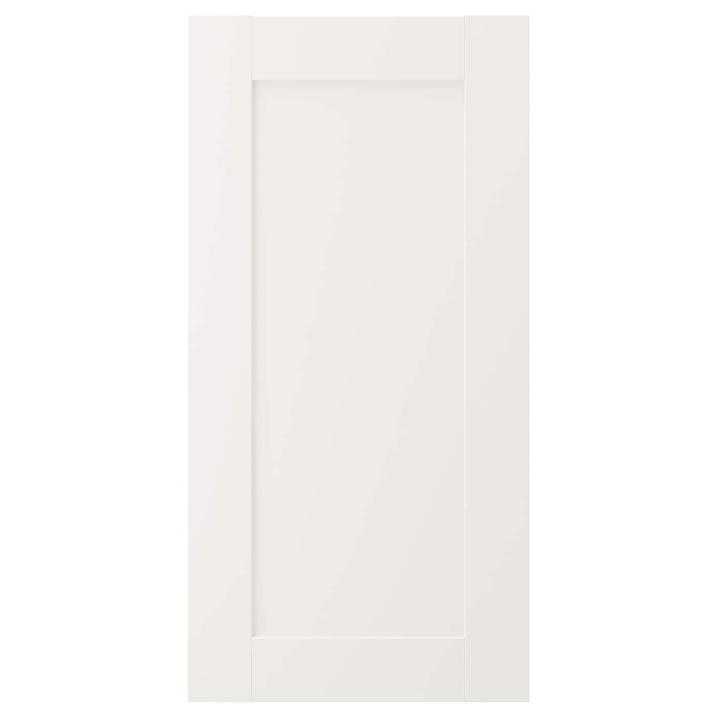 Savedal Puerta Blanco 40 X 80 Cm Ikea