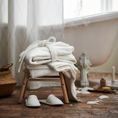 SALVIKEN Juego textil de baño