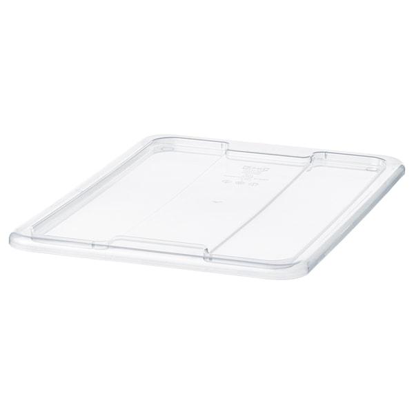 SAMLA Tapa para caja de 11 o 22 litros, transparente