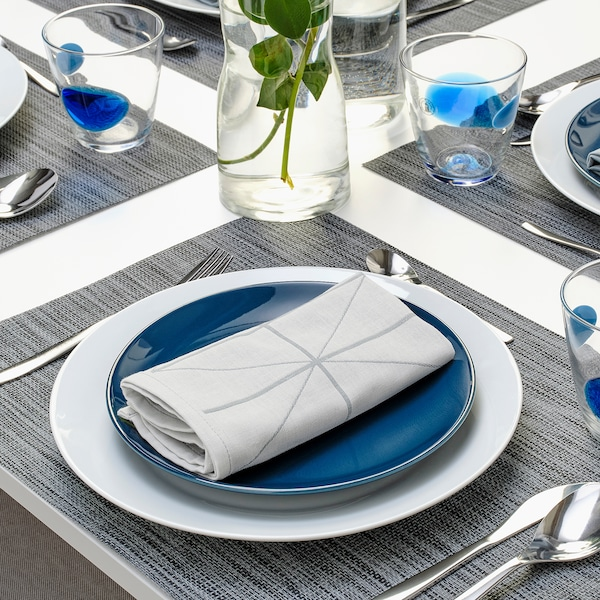 SANDVIVA Paño de cocina, azul, 35x35 cm