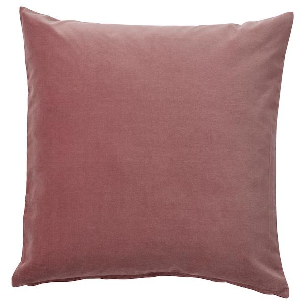 SANELA Funda de cojín, rosa, 50x50 cm