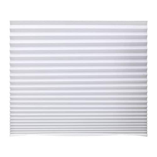 SCHOTTIS - Estor plisado, 90x190 cm, blanco