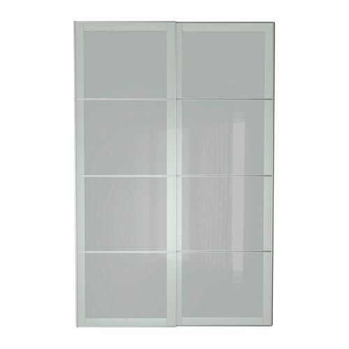 Sekken puertas correderas 2 uds 150x236 cm ikea for Ikea puertas correderas