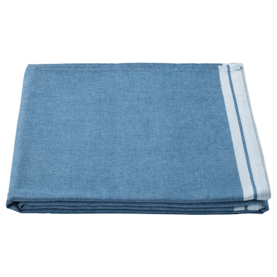 SEVÄRD Mantel, azul oscuro, 145x240 cm