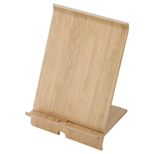 SIGFINN soporte móvil chapa de bambú 13 cm 12 cm 18 cm