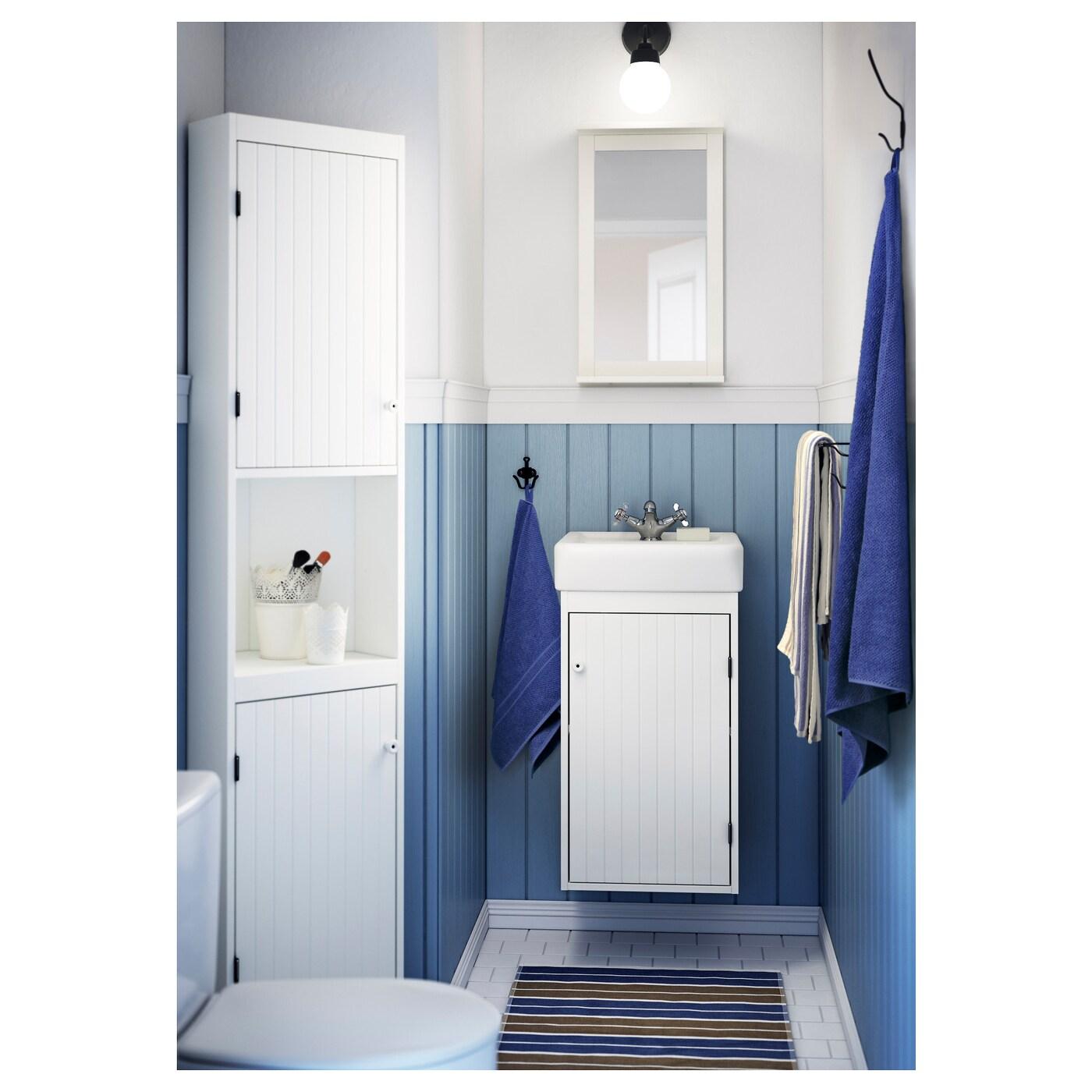 Silver n espejo con estante blanco 36 x 64 cm ikea - Espejo blanco ikea ...